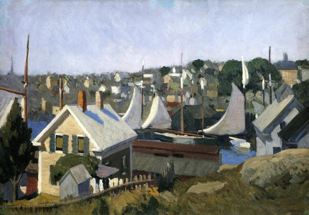 Edward Hopper Gloucester Harbor