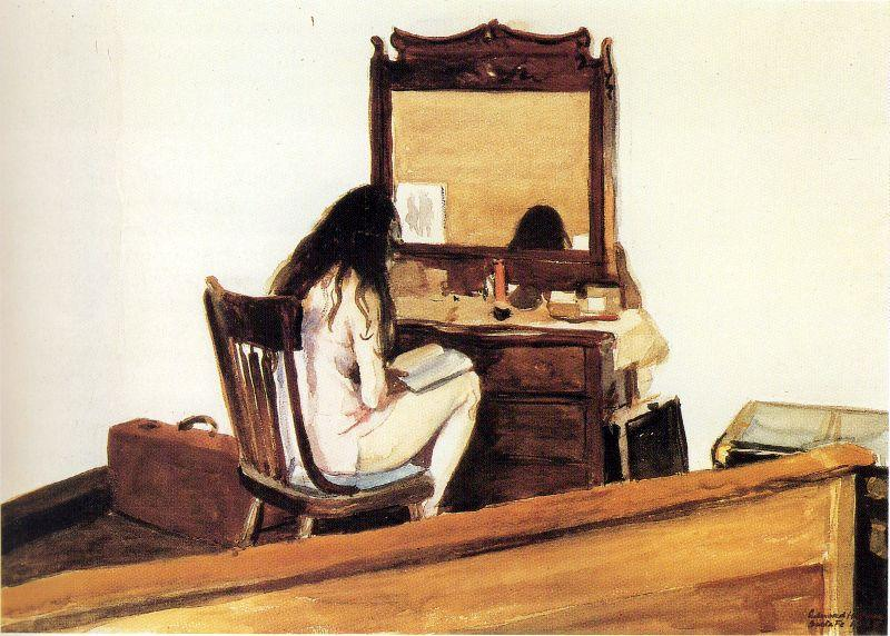 Edward Hopper Interior Model Reading