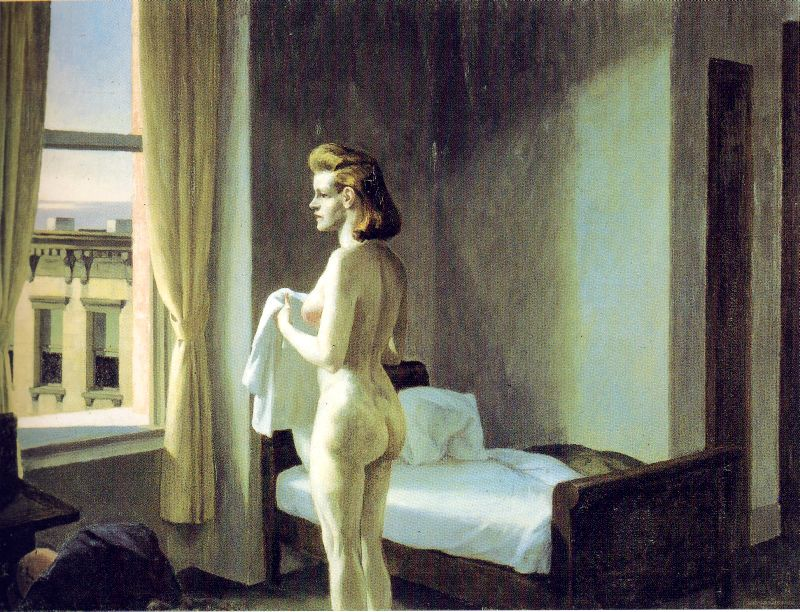 Edward Hopper Morning in a City