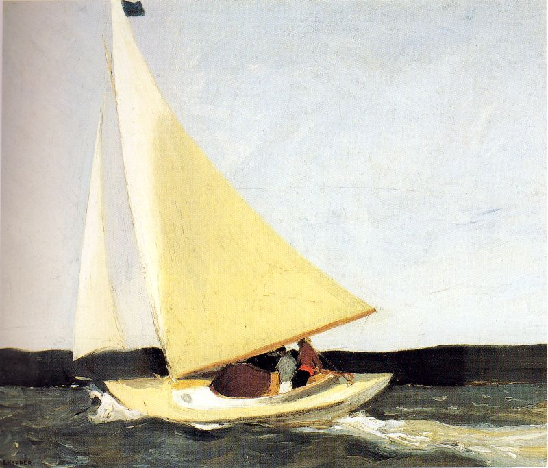 Edward Hopper Sailing