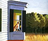 Edward Hopper Canvas Paintings - Cape Cod Morning