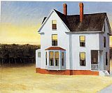 Cape Canvas Paintings - Cape Cod Sunset