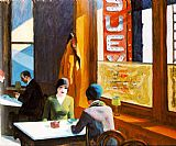Edward Hopper Chop Suey painting