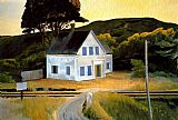 Edward Hopper Dauphinee House painting