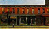 Edward Hopper Early Sunday Morning painting