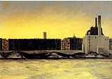 Edward Hopper East River painting