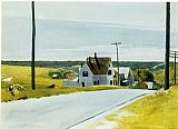 Edward Hopper High Road painting