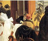 Edward Hopper New York Restaurant painting