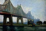 Edward Hopper Queensborough Bridge painting