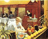 Edward Hopper Wall Art - Tables for Ladies