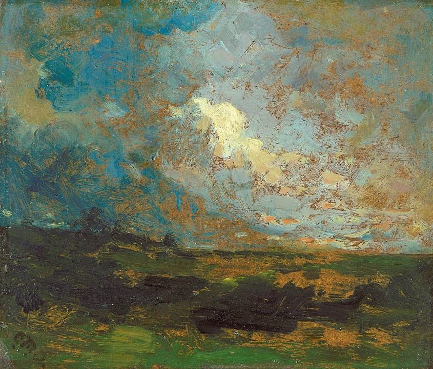 Edward Mitchell Bannister Canvas Paintings