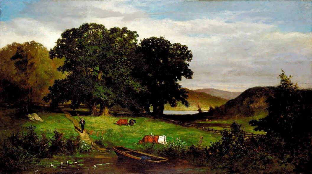 Edward Mitchell Bannister Famous Paintings