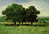 Edward Mitchell Bannister Famous Paintings - Landscape