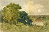 Edward Mitchell Bannister Wall Art - On the Seekonk