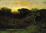 Edward Mitchell Bannister Wall Art - Sunrise