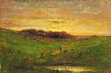 Edward Mitchell Bannister Wall Art - Sunset i