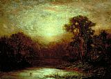 Edward Mitchell Bannister Wall Art - Sunset