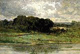 Edward Mitchell Bannister Wall Art - Swale Land
