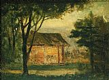 Edward Mitchell Bannister Wall Art - The Old Homestead