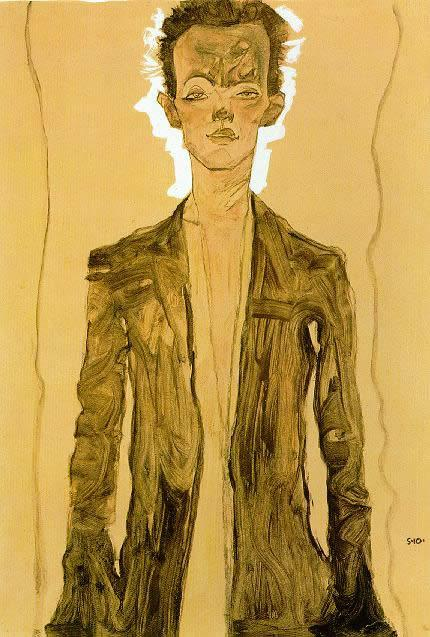 Egon Schiele Canvas Paintings