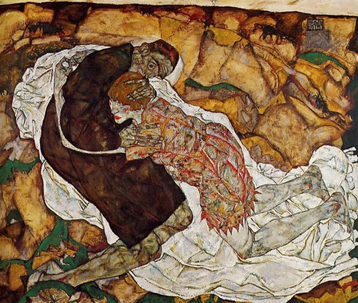 Egon Schiele Death and the Maiden