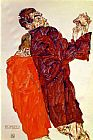 Egon Schiele The Truth Unveiled painting