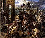Eugene Delacroix The Entry of the Crusaders into Constantinople painting
