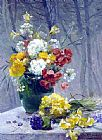 Eugene Henri Cauchois - Still Life of Flowers