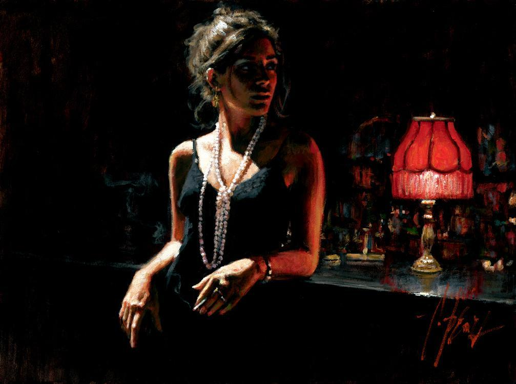 Fabian Perez Marina with Red Light