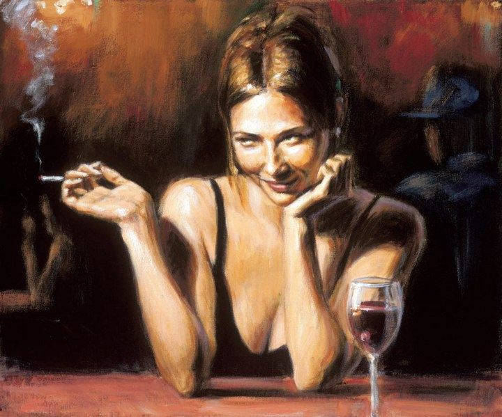 Fabian Perez Selling Pleasures