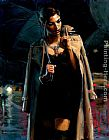 Fabian Perez Wall Art - November Rain Marissa