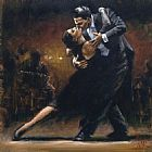 Study Canvas Paintings - Study for Tango V