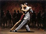 Famous Paris Paintings - Tango in Paris II