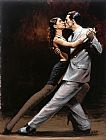 Famous Paris Paintings - Tango in Paris