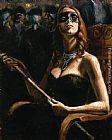Fabian Perez Wall Art - The Noble Cortesana