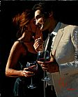 Fabian Perez Wall Art - The Proposal XI