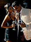Fabian Perez Wall Art - The Proposal iv
