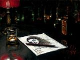 Fabian Perez Canvas Paintings - lucy in la