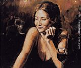 Fabian Perez selling pleasures ii painting