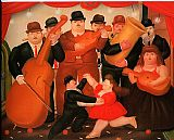 Fernando Botero - Ball in Colombia 1980