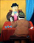 Fernando Botero - Card Players