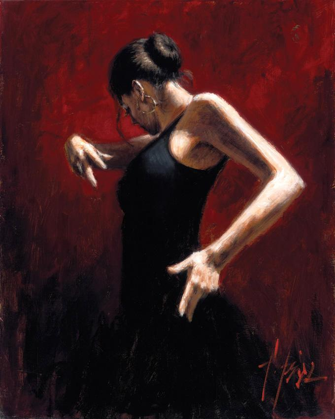 The tango dancers paintings of richard young
