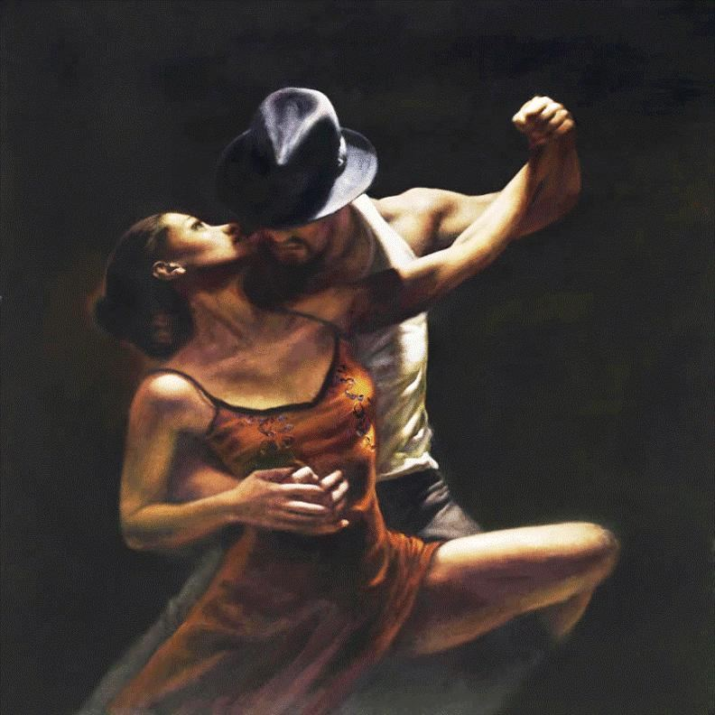 Flamenco Dancer Provocation by Hamish Blakely