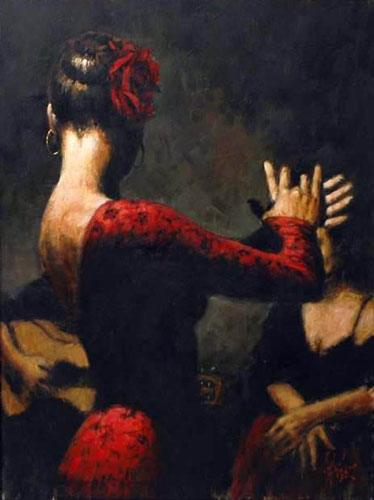Flamenco Dancer tablado