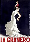 Flamenco Dancer Wall Art - La Granero Flamenco Dance