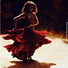 Flamenco Dancer Spirit of Flamenco painting