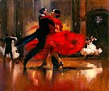 Flamenco Dancer Famous Paintings - dance series II
