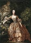 Famous Portrait Paintings - Portrait of Marquise de Pompadour