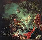 Francois Boucher The Rest on the Flight into Egypt painting