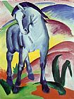 Famous Blue Paintings - Blue Horse